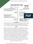 Quo Warranto Petition for Writ of Mandamus (01!27!2010)