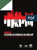Anais Semana Uni Camp 2013