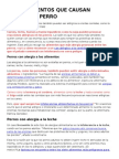 Alimerwwentos Prrohibidos wePara Perros