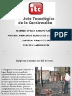 LIMPIEZA TRAZO Y NIVELACION DEL TERRENO.pptx