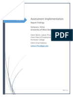 assessment implementation final new