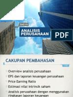 Portofolio Investasi Bab 15 Analisis Perusahaan