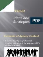e portfolio presentation