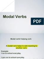 1 Modal Verbs
