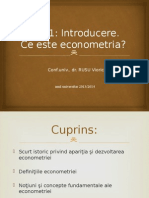 Tema 1 Econometrie