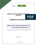 Manual de Preenchimento RGP Aquicultor 2013 PDF