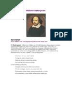 William Shakespeare ΣΙΝΕΜΑΚΟΛΛΗΜΕΝΕΣ
