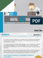 El Recruiter Digital vs. El Director de RRHH Tradicional