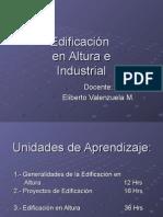 Clase 1 Edificacion en Altura e Industrial 2