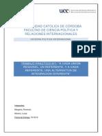 politica internacional
