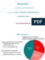 Никорандил - активатор АТФ-зависимых калиевых каналов