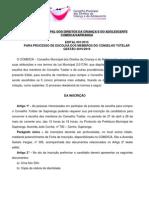 edital 2014 - ConselhoTutelar