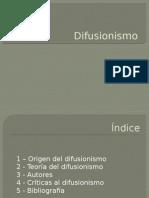 Difusionismo presentación2