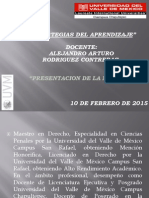 1 PRESENTACION ESTRATEGIAS DEL APRENDIZAJE Febrero  2015.pdf