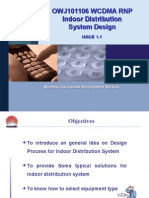 OWJ101106 WCDMA RNP Indoor Distribution System Design ISSUE1
