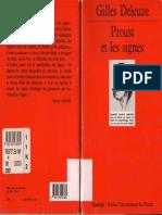 Deleuze - Proust Et Les Signes [PUF 1998]