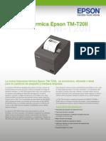 Ficha Tecnica Epson Tmt20ii