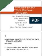 Prinsip-prinsip Dasar Sintesis Senyawa Aromatis