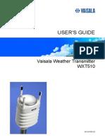 WXT510 User Guide in English Statie Meteo Vaisala