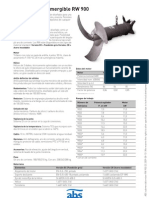 Catálogo agitador ABS sumegible RW 900