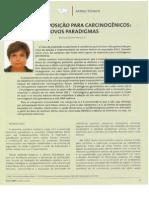ABHO - Limites de Exposicao Para Carcinogenicos - Novos Paradigmas