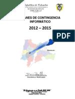 Plan de Contigencia de Informacion 2014