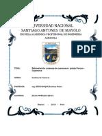 Reforestacion y Manejo de Cuencas en Granja Porcon