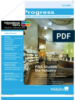 PBA Progress Fall08 Newsletter