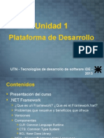 Plataforma de desarrollorogramación orientada a objetos