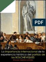 Édourd Burdzhalov; La importancia internacional de la historia del partido de los bolcheviques, 1948.pdf