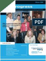 PBA Progress Winter09 Newsletter