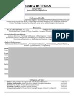 resume wout address