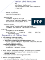 Regulation of GI Function