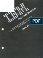 IBM Technical Directory IBM PC and PS2 Jun88