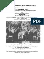 Habilidades e Fundamentos Tai Chi Yang - Por Huang Yuanxiu