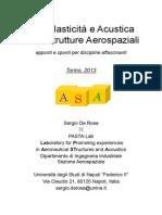 Aeroelasticità e Acustica Nelle Strutture Aerospaziali by de Rosa