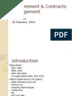 Procurement - Lecture01 010214