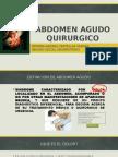 Abdomen Agudo QuierurgicoTERMINADO