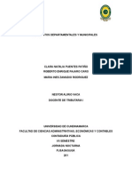 Impuestos Departamentales y Municipales