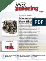Maximizing Power Plant Efficiency