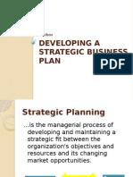 Developing Astrategic Business Plan
