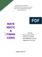 Concepto de Operaciones Financieras