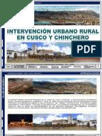 Análisis Cuzco - Chinchero