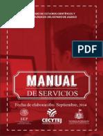 Manual de Servicios CECYTEJ