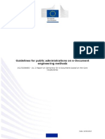 ISA Programme - 2014 - Guidelines for Public Administrations on E-Document Engineering Methods_v1.00