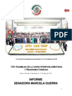 28-04-15 Informe Senadora Marcela Guerra
