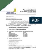 Gp Medi Ins for Club Agts 2009-10