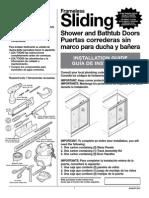 install tub door