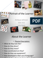 weebly portrait of the learner pdf
