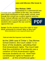 bill of rights cases